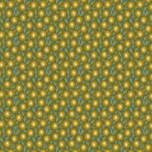 Andover SEQUOIA, Trail Mix Green 8754T, 100% Cotton Patchwork Quilting Fabric